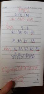 แนวทางหวยฮานอย 3/11/62